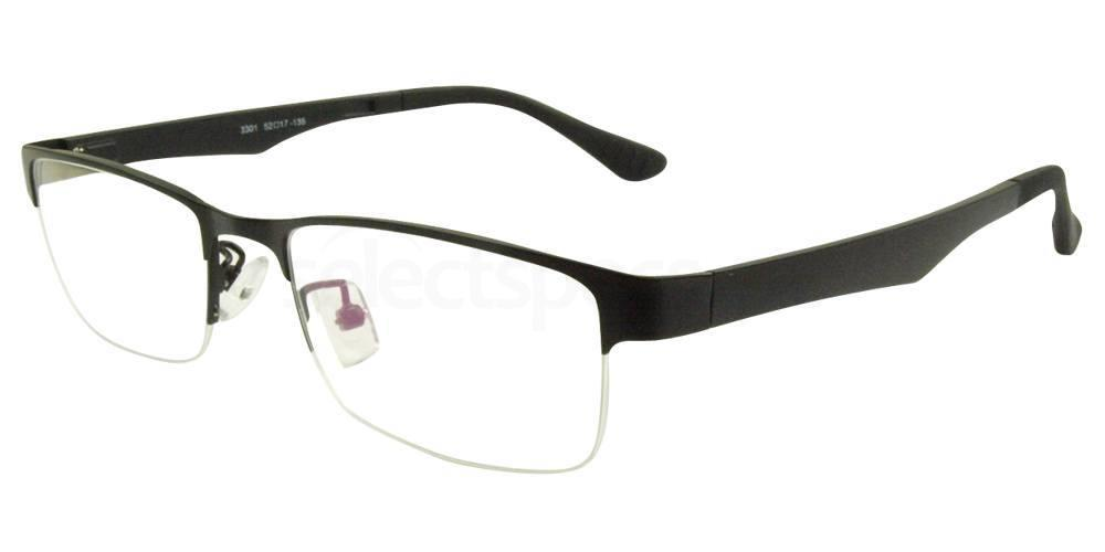 Black 3301 Glasses, Hallmark