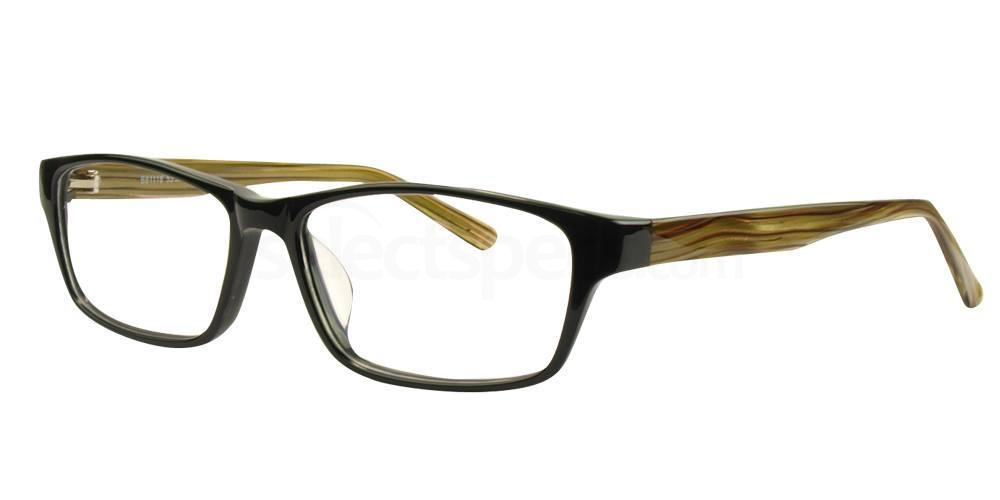Black and Green / Brown B81118 Glasses, SelectSpecs