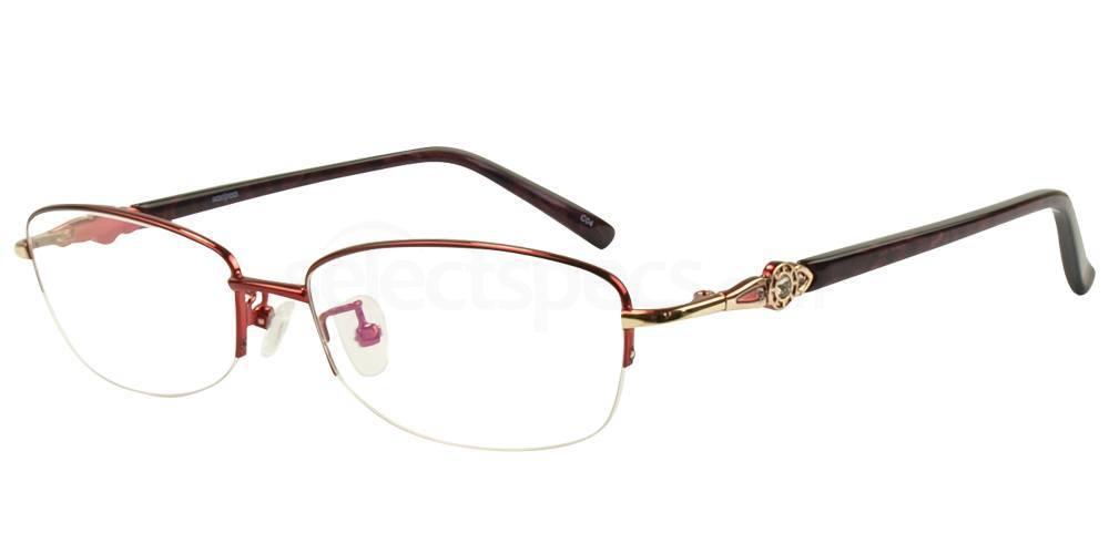 C04 8807 - SEMI-RIMLESS Glasses, Hallmark
