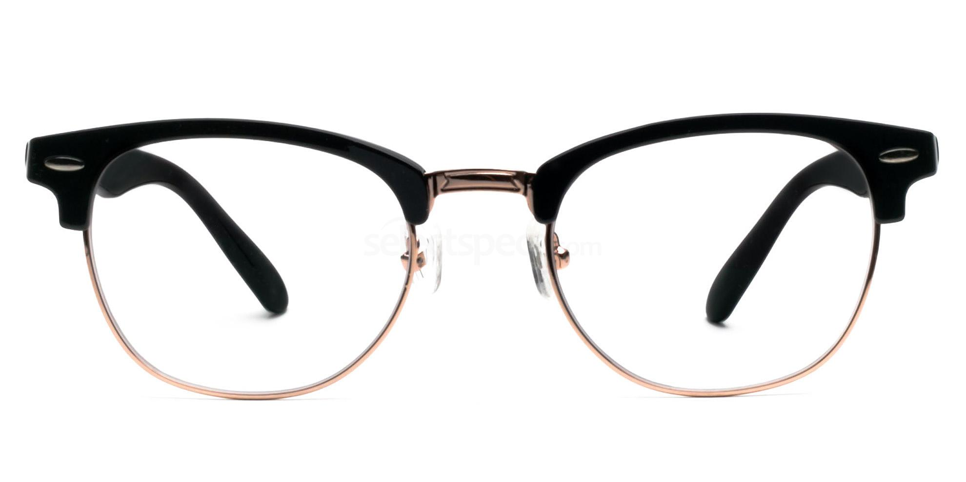 Hallmark-Clubmaster-Style-Prescription-Glasses-SelectSpecs