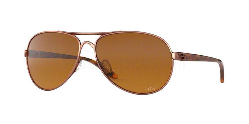 407914 OO4079 FEEDBACK (Polarized) Sunglasses, Oakley Ladies