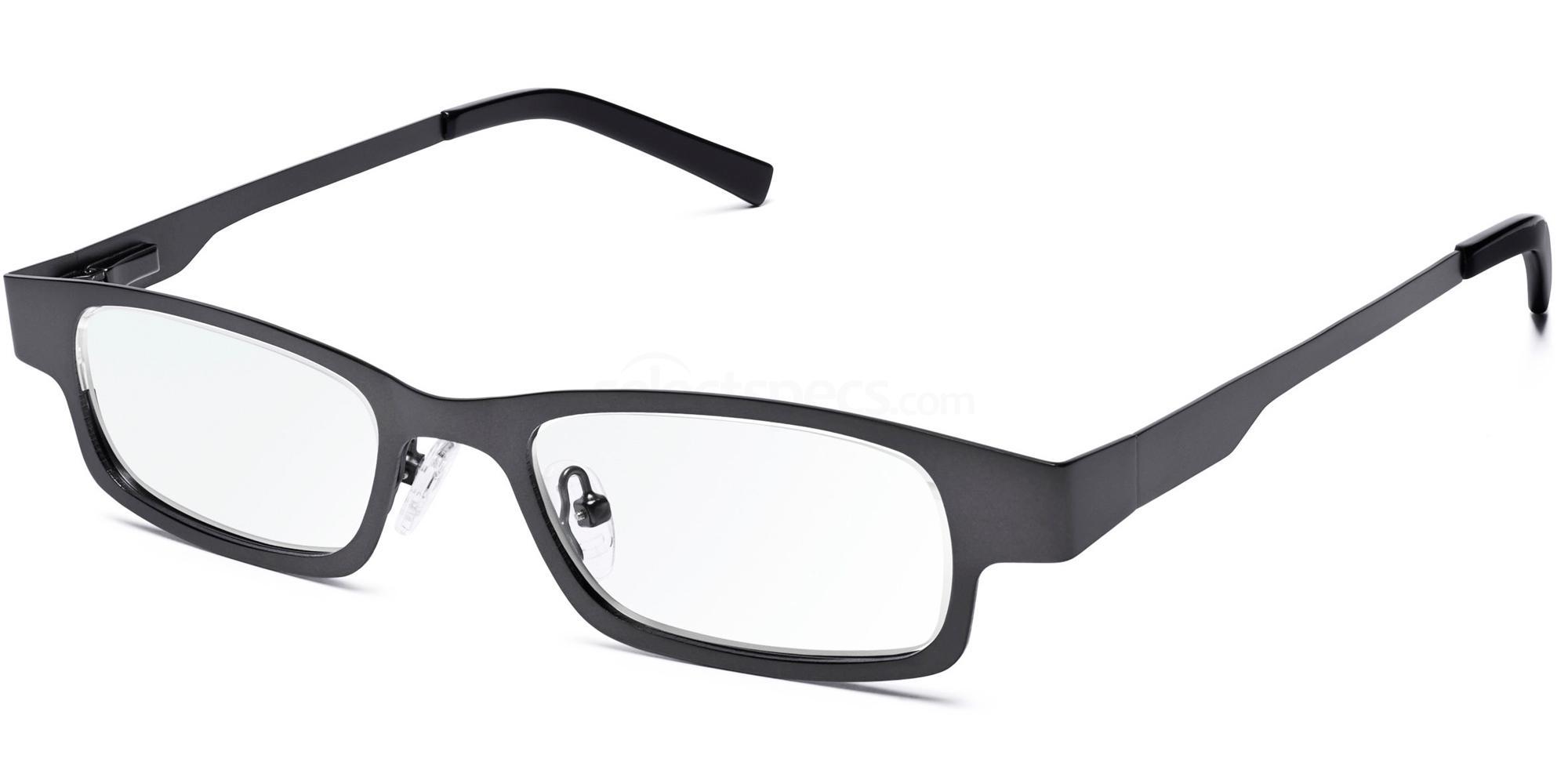 GUNMETAL Stainless Steel - lens strength adjustable between +0.50 to +4.00 D Accessories, Eyejusters