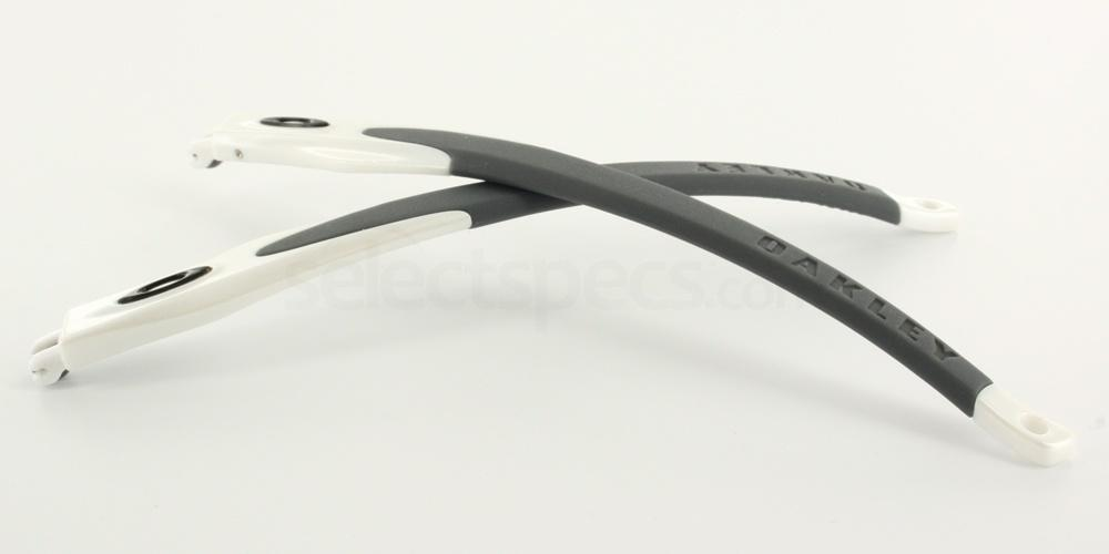 EXTRA TEMPLE 2 [24] Oakley Crosslink - Spare Arms OX802704 - Pearl & Grey Accessories, Oakley Accessories