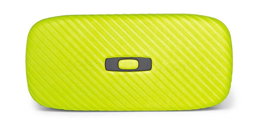 100-270-002 Oakley Square O Hard Case - Neon Yellow Accessories, Oakley Accessories