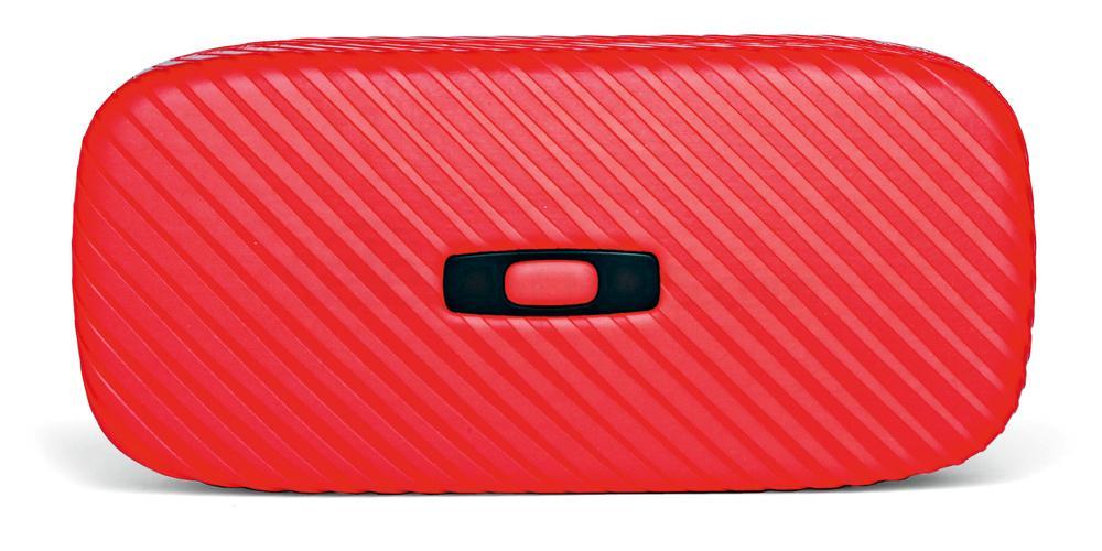 100-270-004 Oakley Square O Hard Case - Tomato Red Accessories, Oakley Accessories