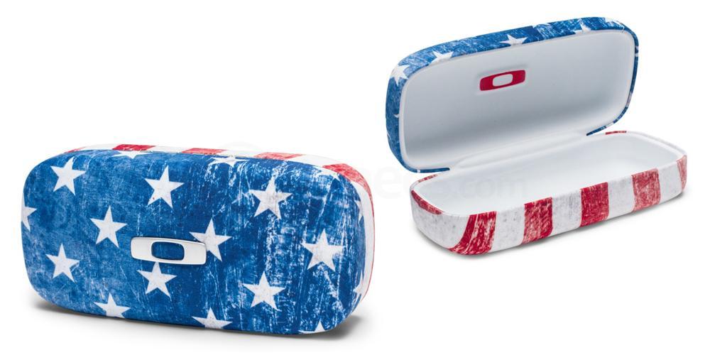 100-798-001 Oakley Square O Hard Case - USA Flag Accessories, Oakley Accessories