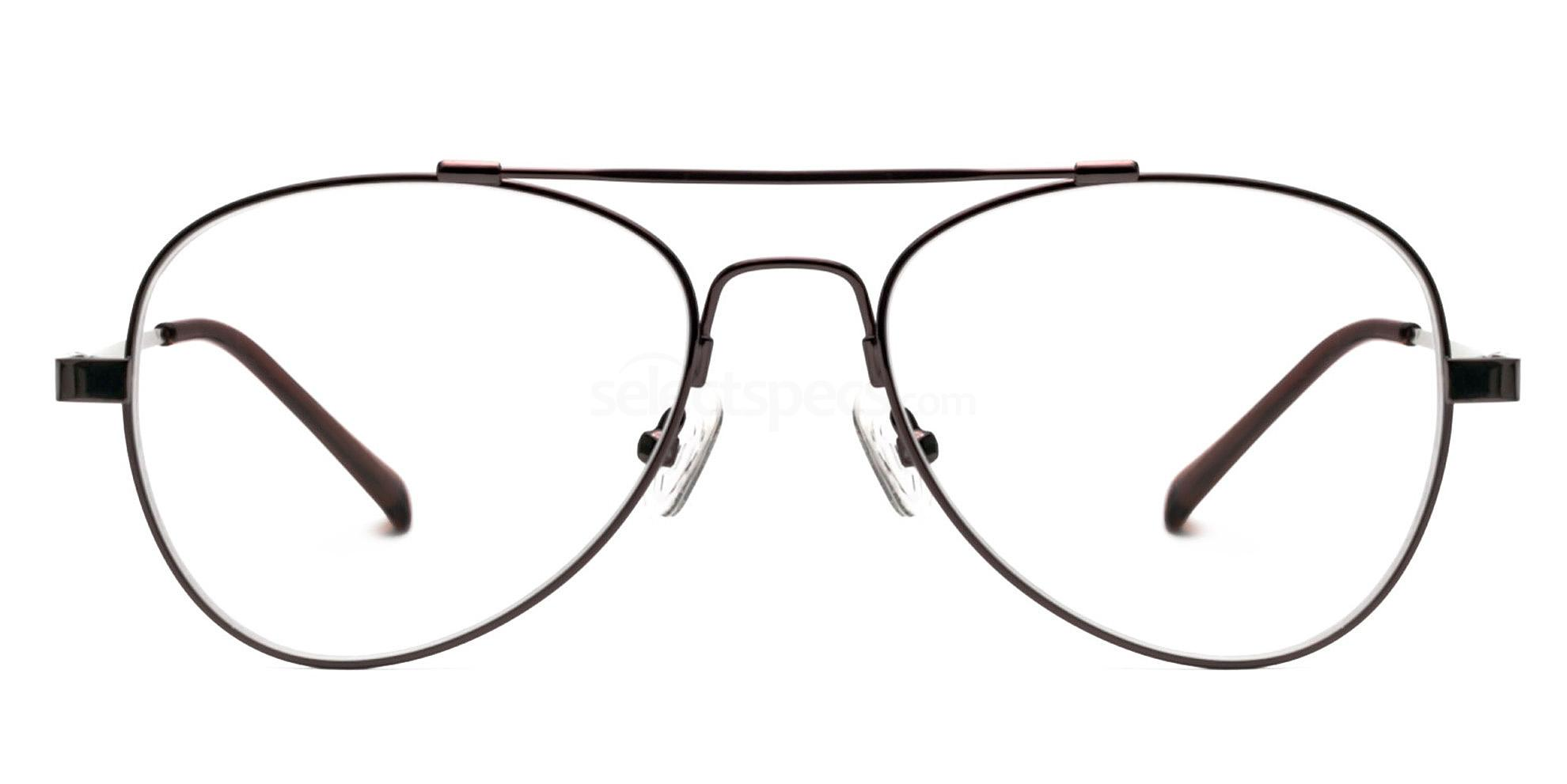 Dark Brown CF919 Glasses, Infinity