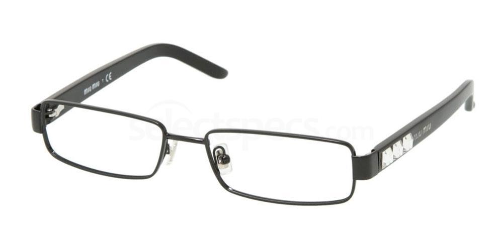7AX1O1 MU 58GV Glasses, Miu Miu