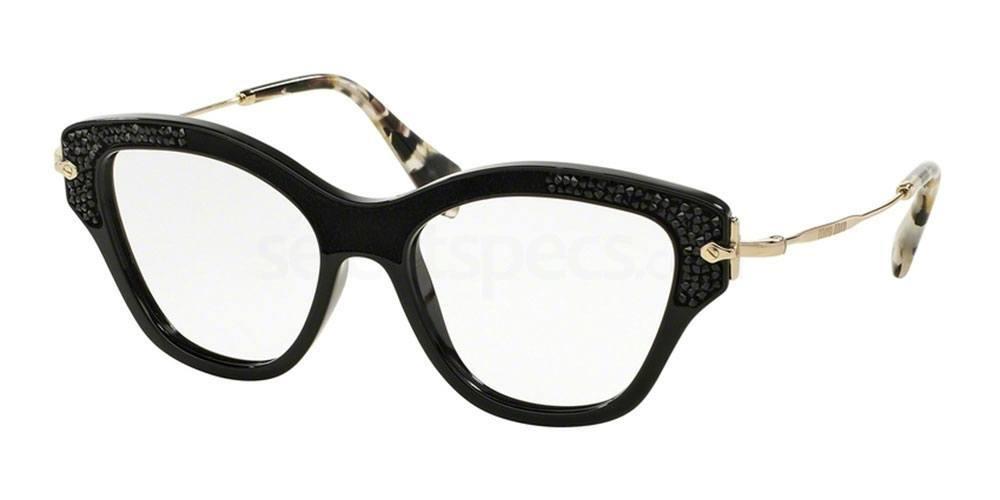 1AB1O1 MU 07OV Glasses, Miu Miu