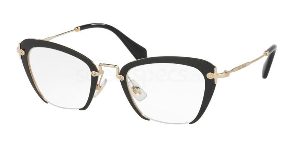 1AB1O1 MU 54OV Glasses, Miu Miu