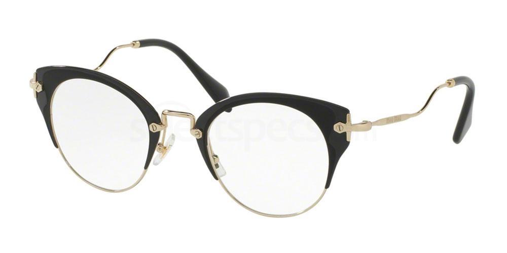 1ab1o1 mu 52pv miu miu - Miu Miu Glasses Frames