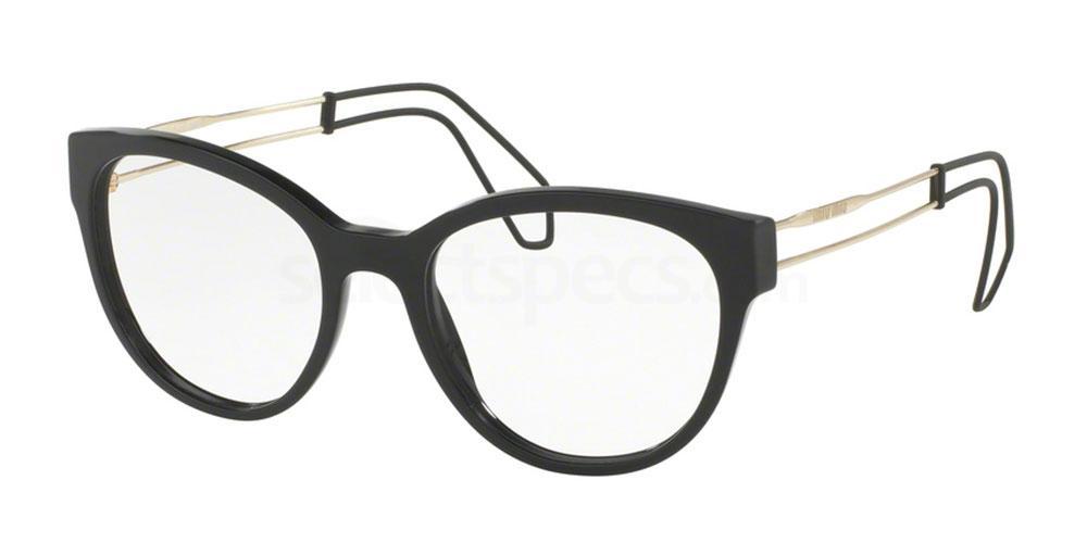 1AB1O1 MU 03PV Glasses, Miu Miu