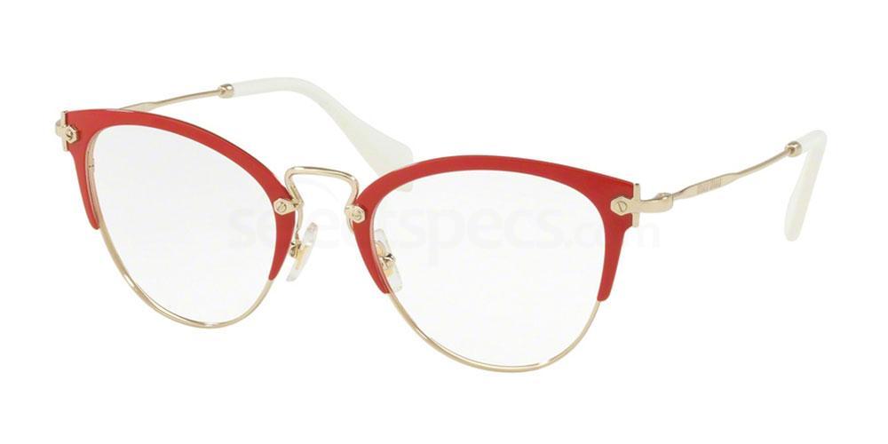 VYI1O1 MU 50QV Glasses, Miu Miu