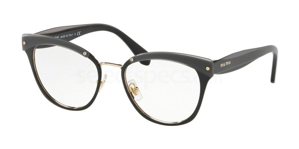 1AB1O1 MU 54QV Glasses, Miu Miu