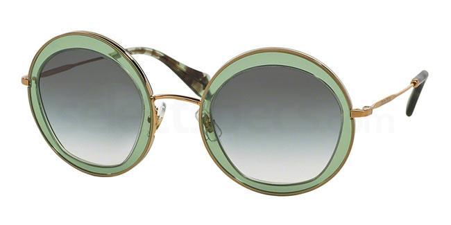 TWN1E0 MU 50QS Sunglasses, Miu Miu