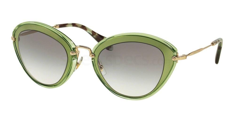 Miu Miu Green Glasses