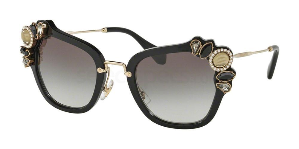 1AB0A7 MU 03SS Sunglasses, Miu Miu