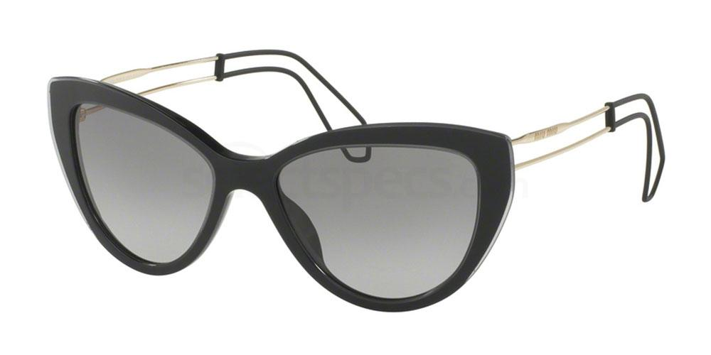 U6F3M1 MU 12RS Sunglasses, Miu Miu