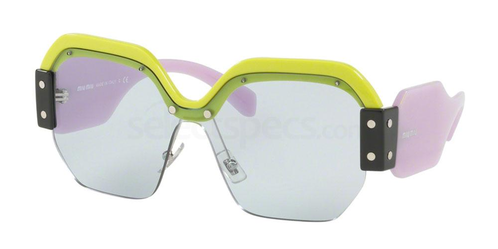 Miu Miu sunglasses yellow/blue