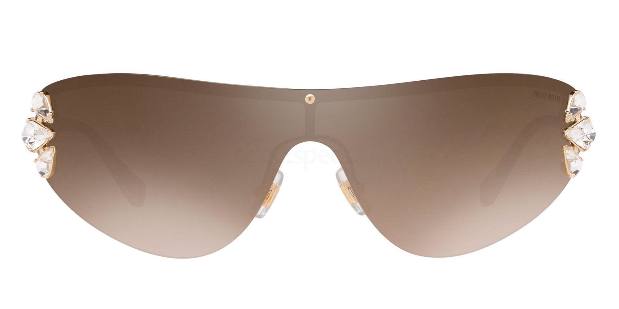 ZVN4O2 MU 66US Sunglasses, Miu Miu