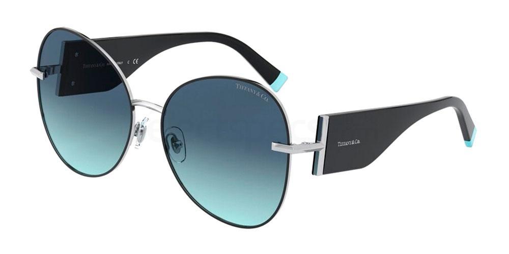 61459S TF3069 Sunglasses, Tiffany & Co.