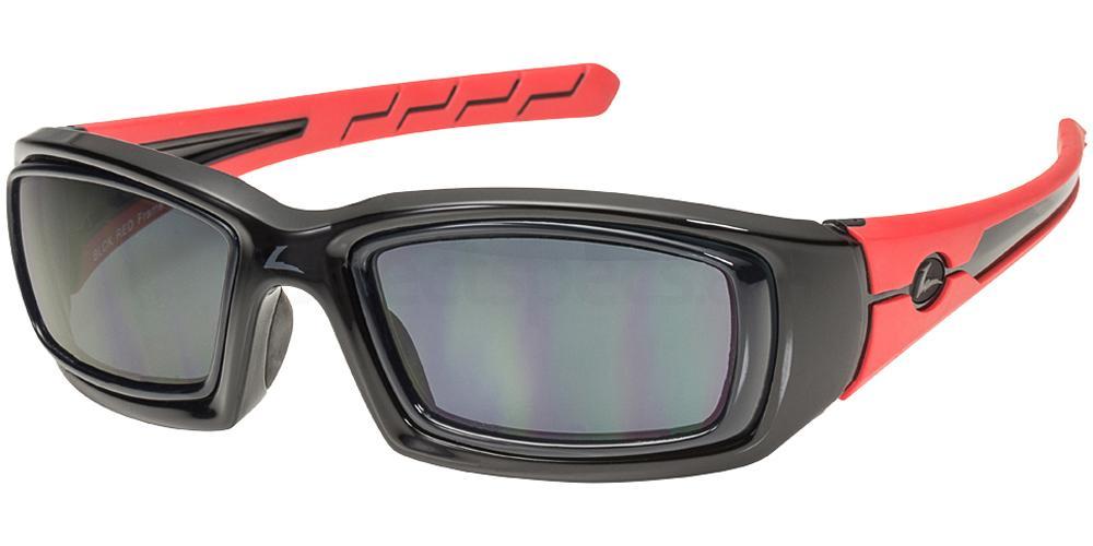 451201000 RX Sunglasses Rattler Sunglasses, LEADER