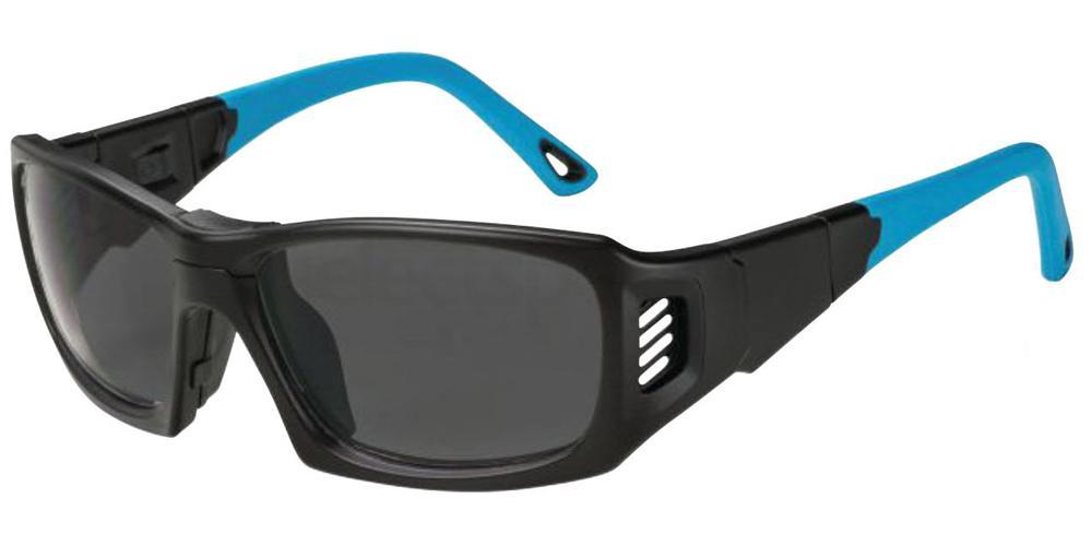 Matte Black/Blue Rx Sports Goggle ProX Accessories, LEADER
