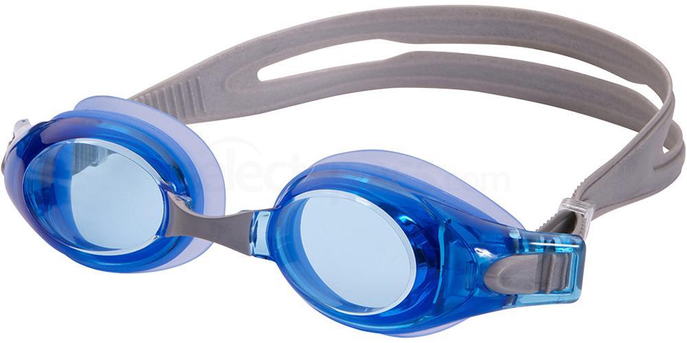 339010100 Ready-to-Wear Rx Swim Goggles Velocity Blue Accessories, LEADER