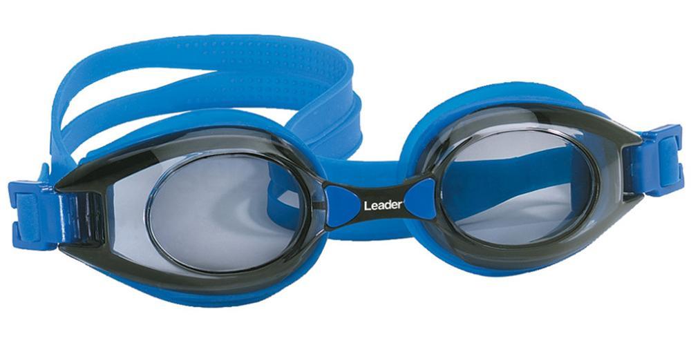 332061100 Ready-to-Wear Rx Swim Goggles Vantage Blue Accessories, LEADER