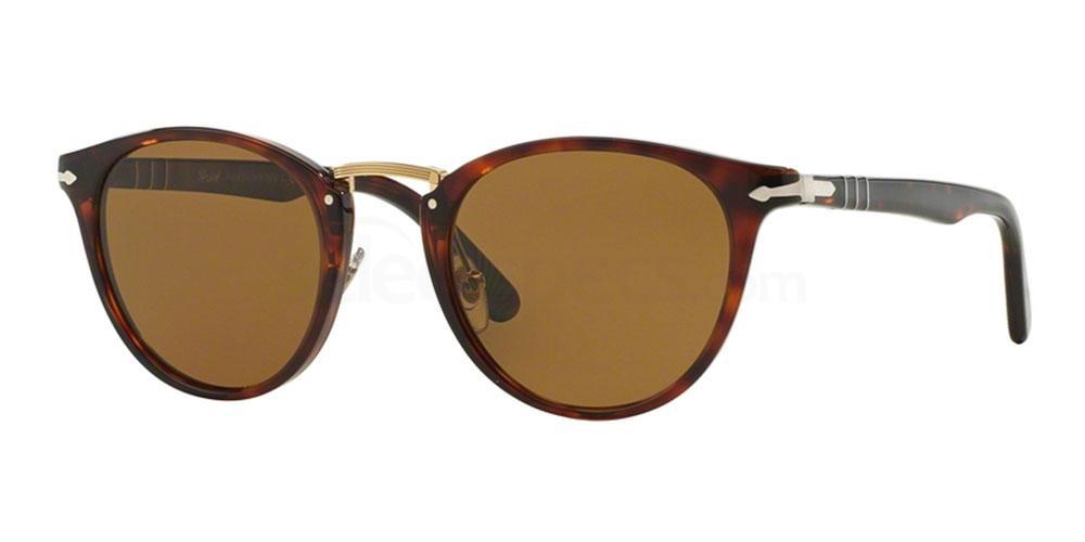 24/57 PO3108S Sunglasses, Persol