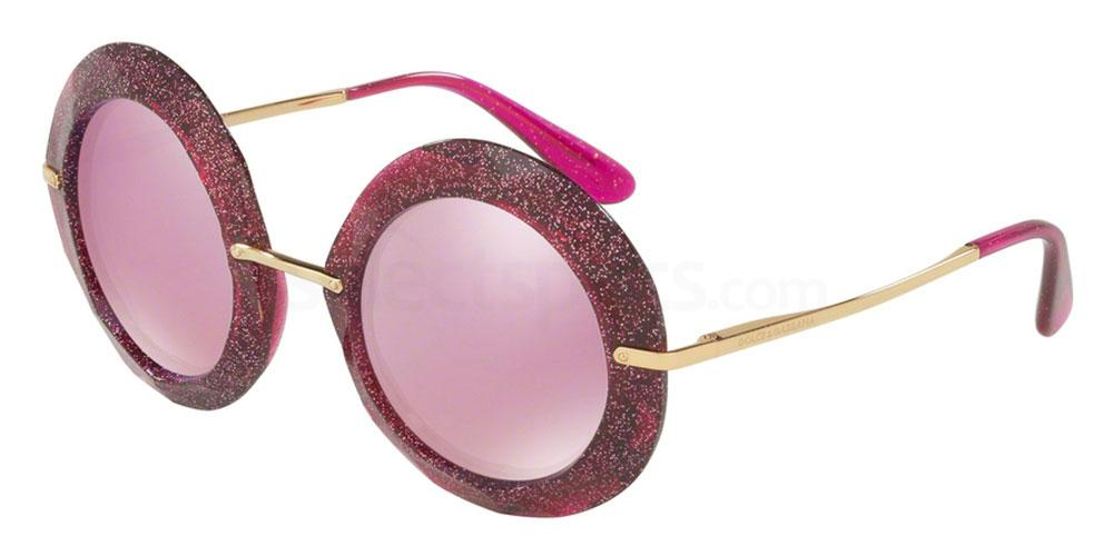 round sunglasses glitter ss17