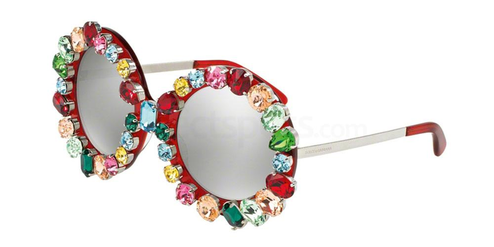gem studded sunglasses D&G