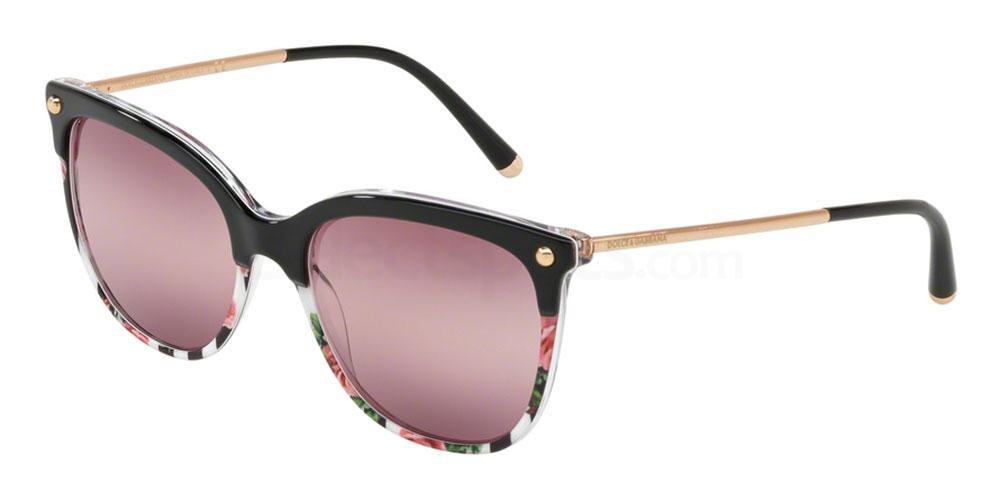 3173W9 DG4333 Sunglasses, Dolce & Gabbana