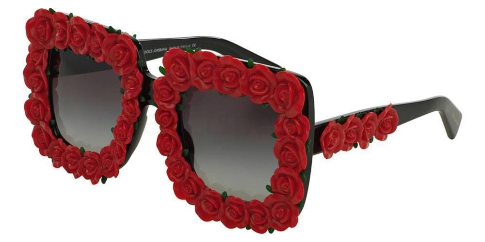 flower sunglasses festival designer D&G