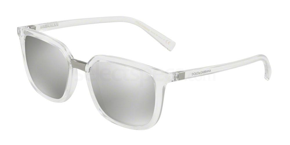 TRANSPARENT SUNGLASSES MEN D&G