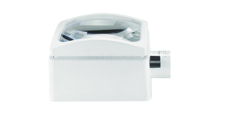 158263 2.8x Aplanatic PXM 100x75mm Illuminated Stand Magnifier Accessories, Eschenbach