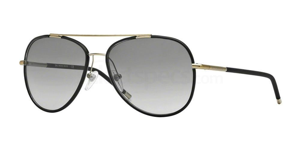 114511 BE3078J Sunglasses, Burberry