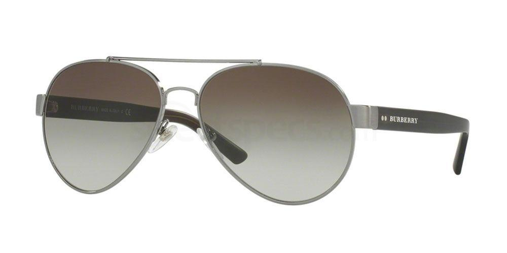 10083Y BE3086 Sunglasses, Burberry