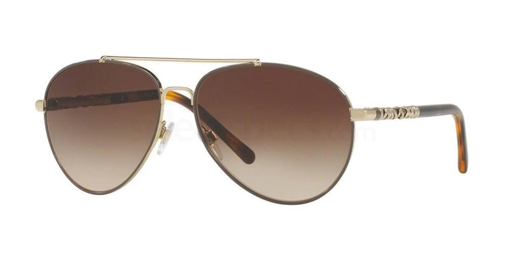 114513 BE3089 Sunglasses, Burberry