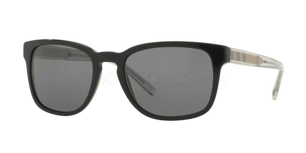 300181 BE4222 Sunglasses, Burberry