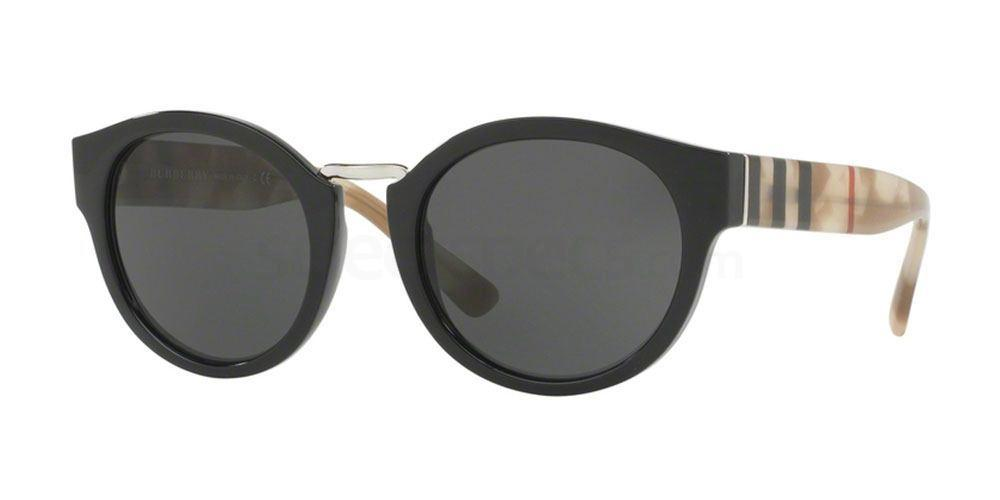 360087 BE4227 Sunglasses, Burberry