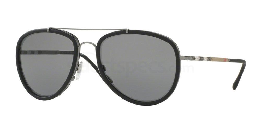 1003T8 BE3090Q Sunglasses, Burberry