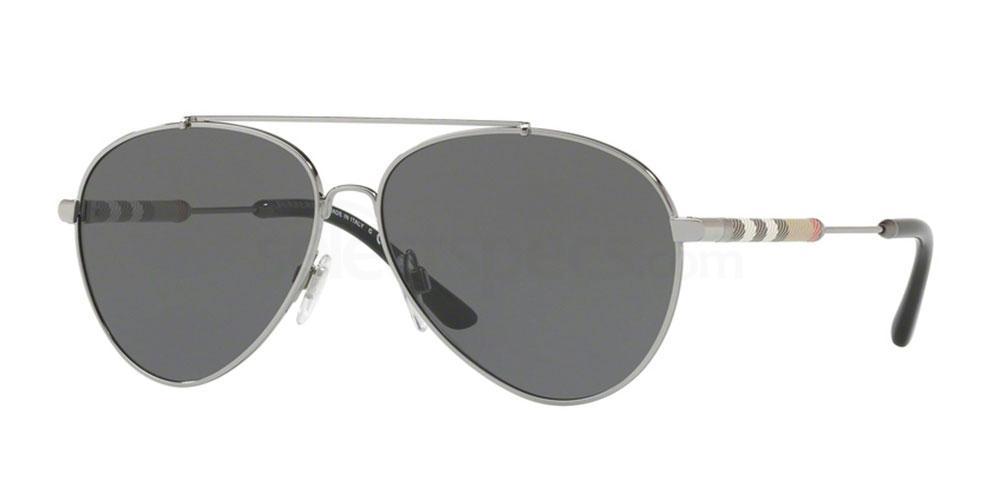 100387 BE3092Q Sunglasses, Burberry