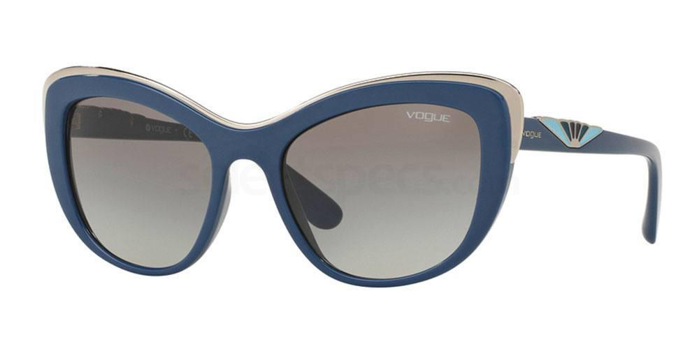 Vogue blue sunglasses
