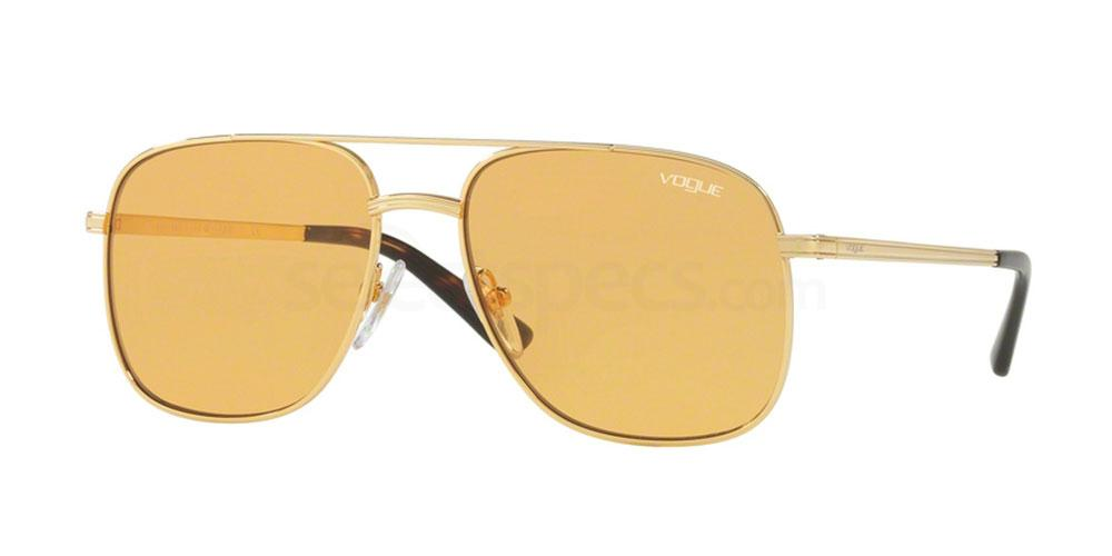 Orange Vogue sunglasses