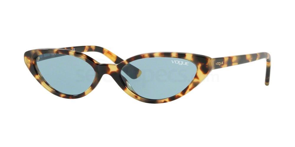 Vogue VO5237S Skinny Tortoiseshell Sunglasses