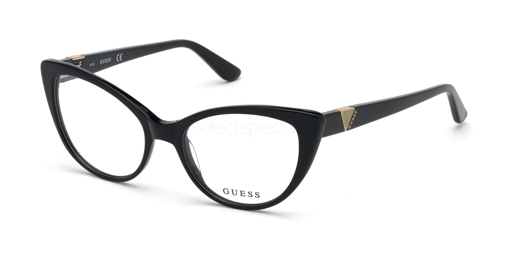 001 GU2708 Glasses, Guess
