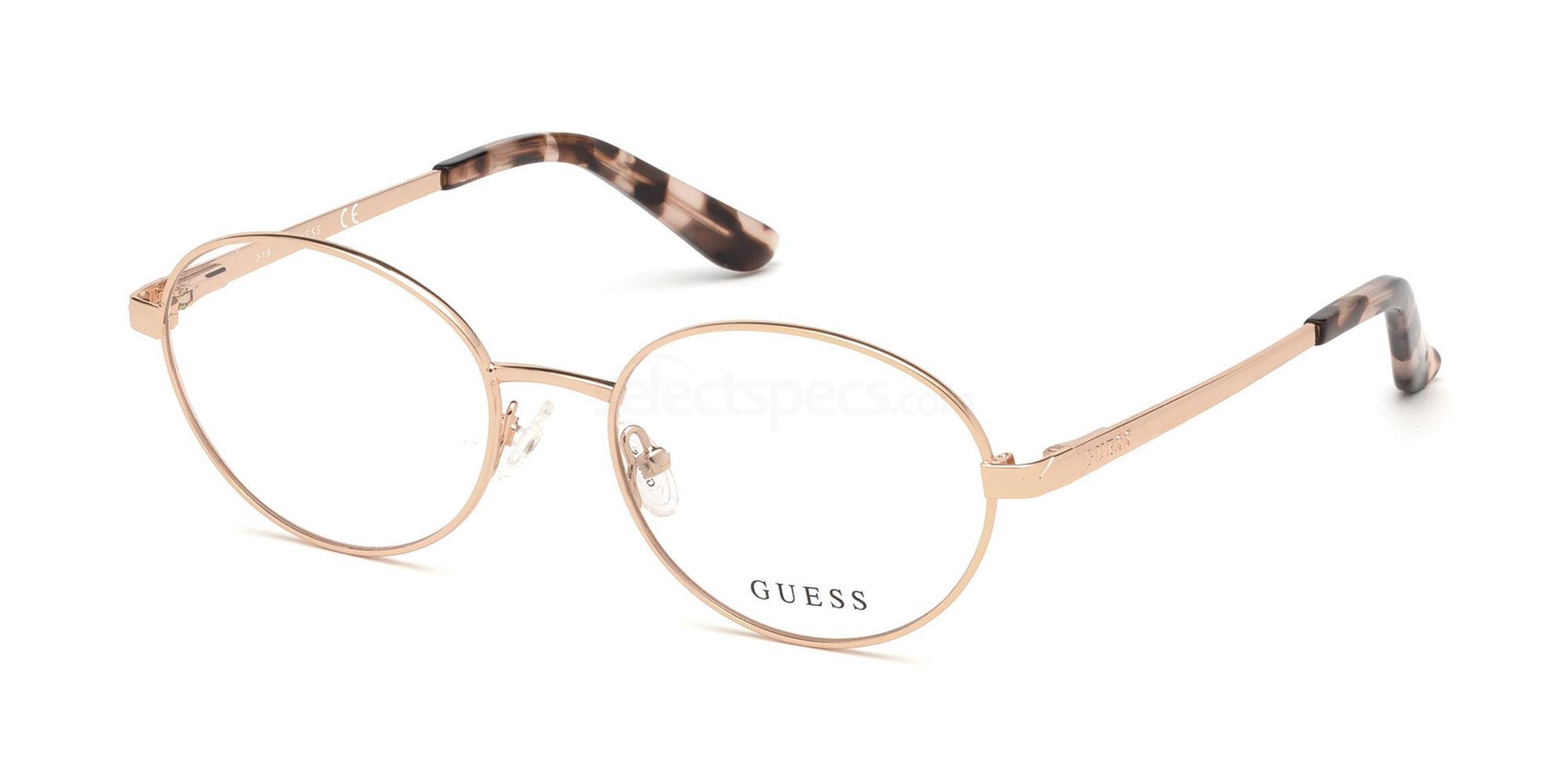 028 GU2713 Glasses, Guess