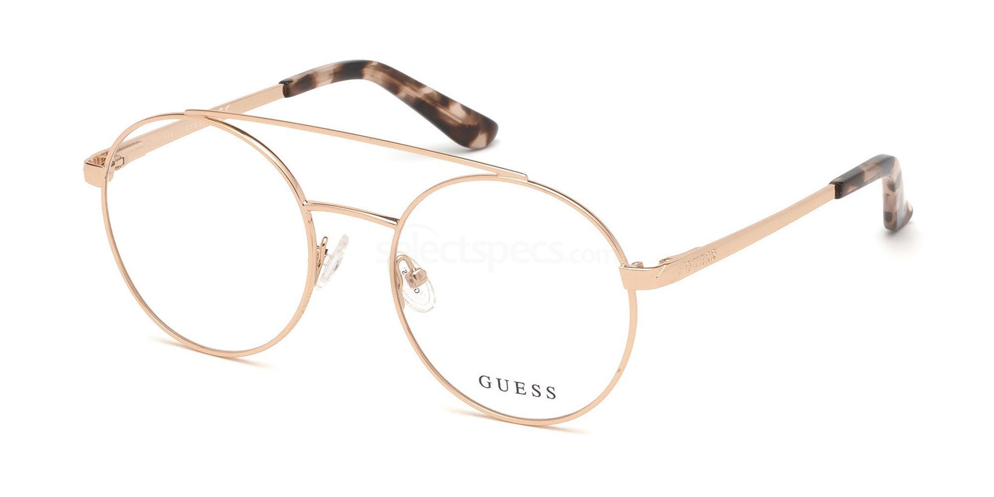 028 GU2714 Glasses, Guess