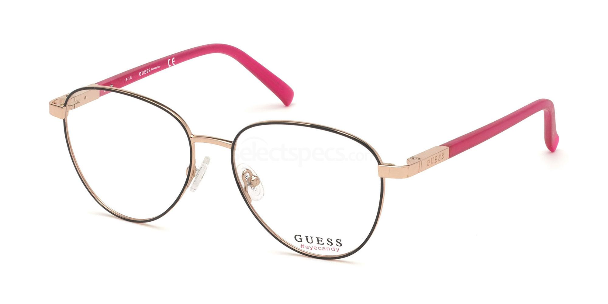 001 GU3037 Glasses, Guess